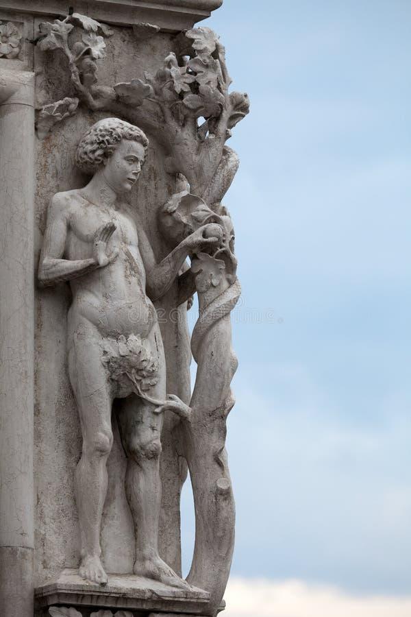 Venedig - der Palast des Dogen. lizenzfreie stockfotografie