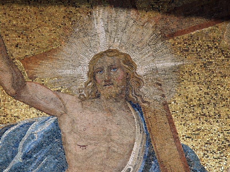 Venedig - die Basilika Str.-Markierung. lizenzfreie stockfotos