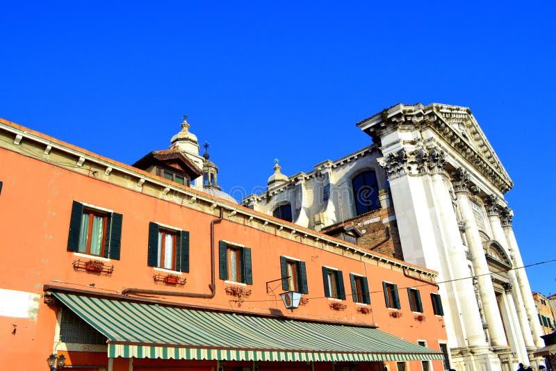 Venedig-Gebäude, Italien lizenzfreie stockfotos