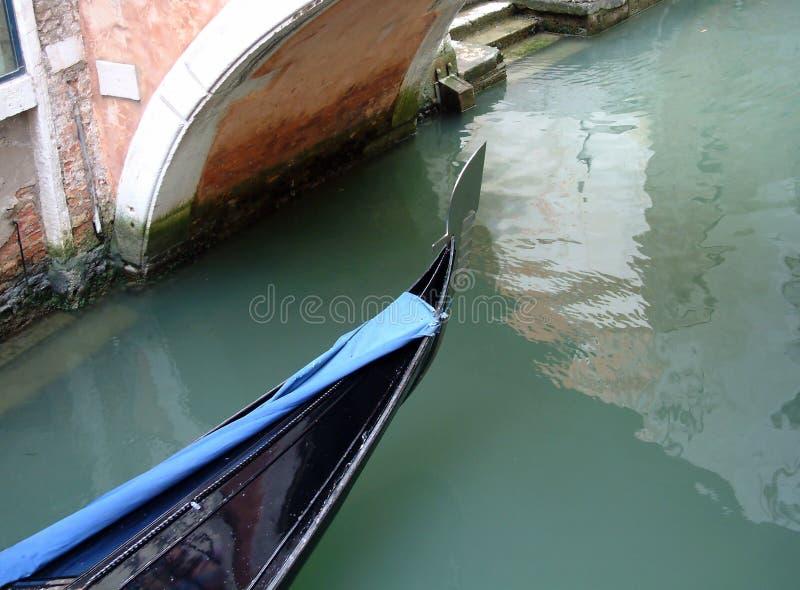 Venedig-Gondel Stockfoto