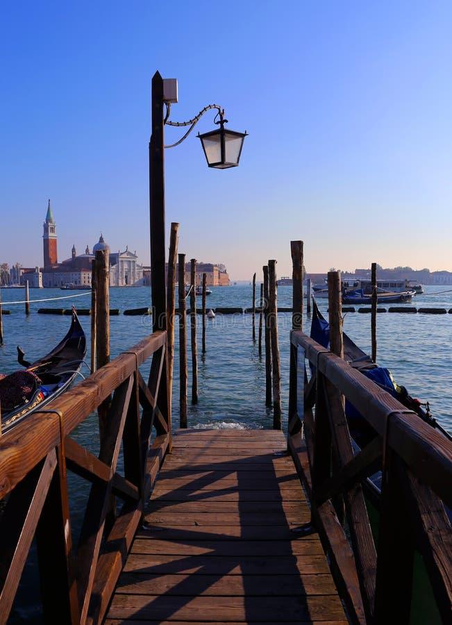 Venedig-Gondel stockbilder