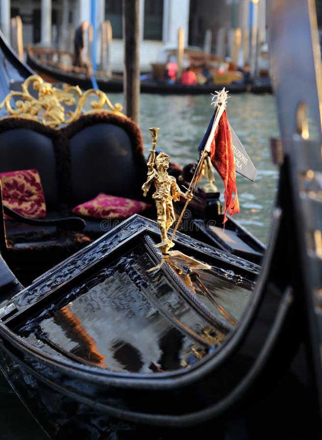 Venedig-Gondel lizenzfreies stockbild