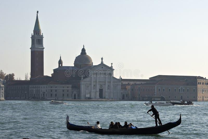 Venedig-Gondoliere lizenzfreies stockbild