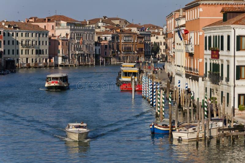 Venedig-großartiger Kanal lizenzfreies stockbild
