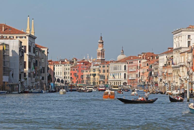 Venedig-großartiger Kanal lizenzfreie stockfotografie