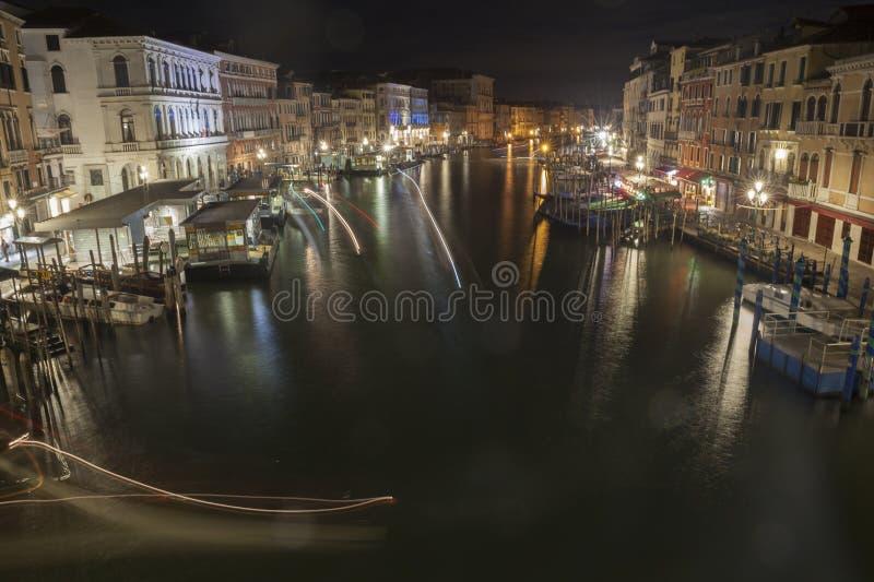 Venedig-gro?artiger Kanal stockfotografie