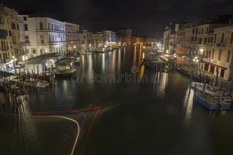 Venedig-gro?artiger Kanal lizenzfreies stockfoto