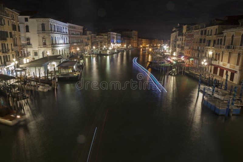 Venedig-gro?artiger Kanal stockfotos