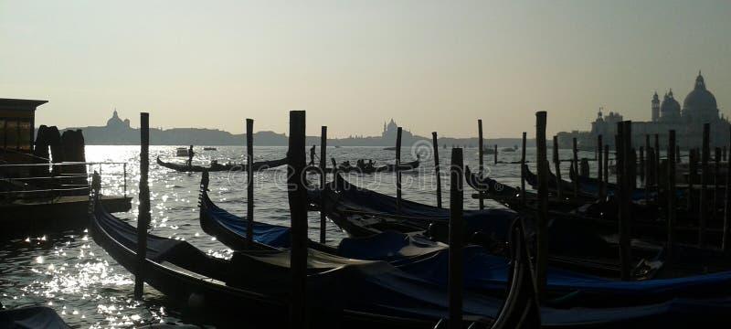 Venedig-Hafen lizenzfreie stockfotografie