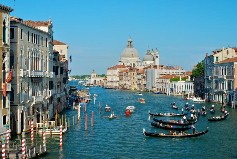 Venedig-Hochzeit stockfoto
