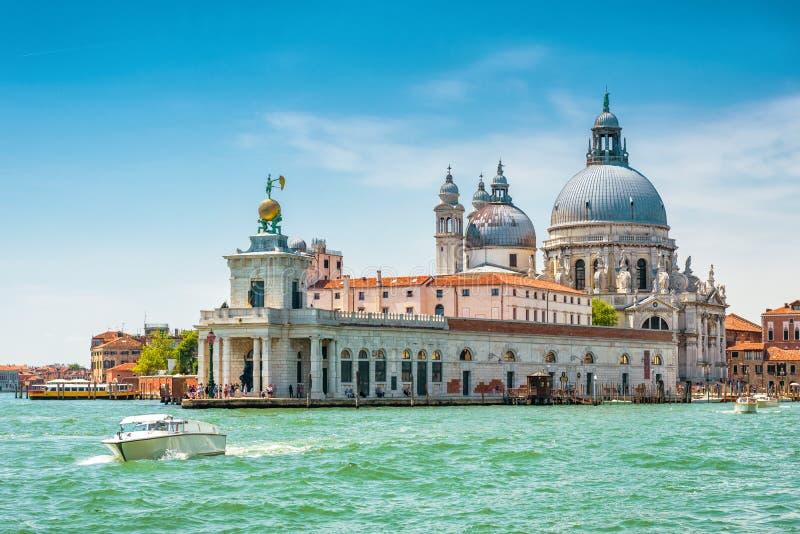 Venedig i sommar, Italien fotografering för bildbyråer