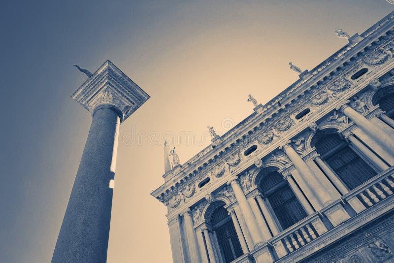 Venedig, Italien - 14. August 2017: Der herzogliche Palast ist der ehemalige Wohnsitz der Machthaber der mächtigen venetianischen stockfoto