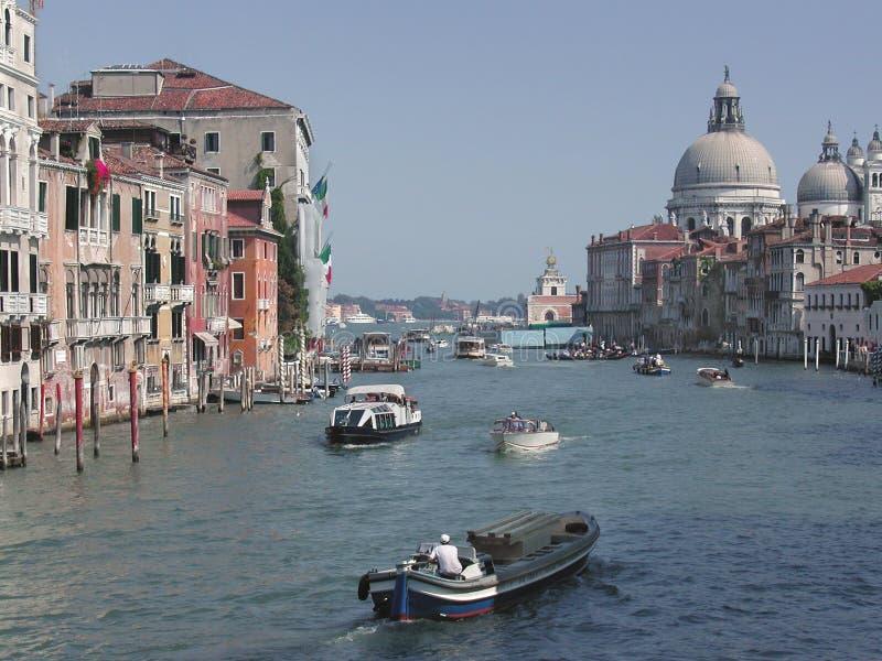 Venedig - Italien - Großartiger Kanal Lizenzfreies Stockfoto