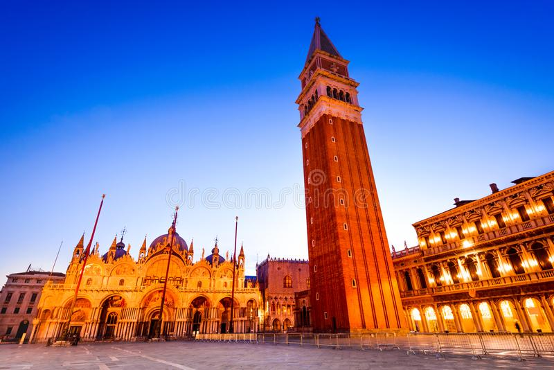 Venedig, Italien - Marktplatz San Marco stockfotografie