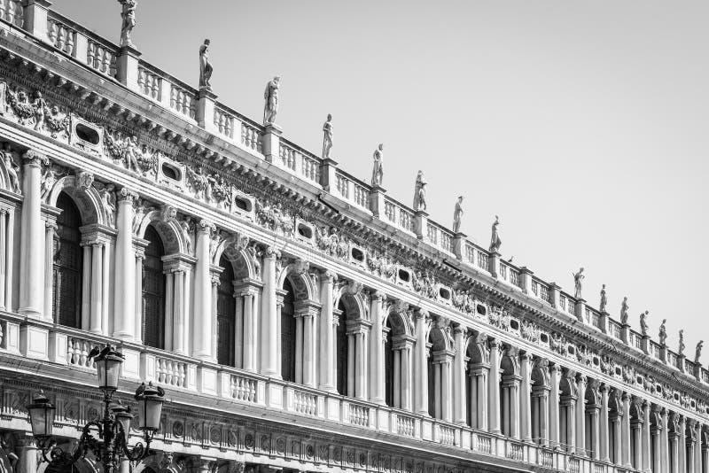 Venedig, Italien - Spaltenperspektive lizenzfreies stockfoto