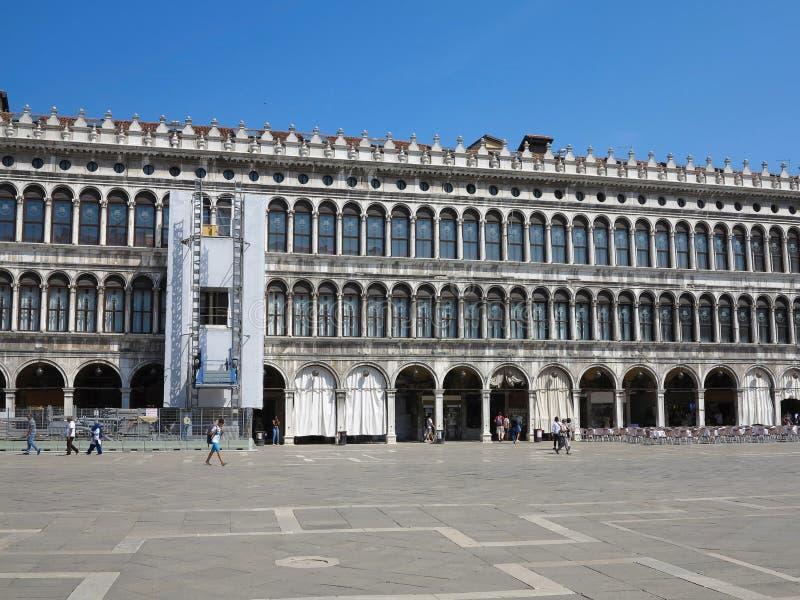 20 06 2017, Venedig, Italien: St- Mark` s Quadrat, der Palast des d stockfotografie