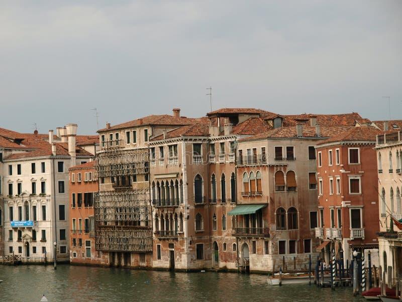 Venedig - Kanal groß stockbilder