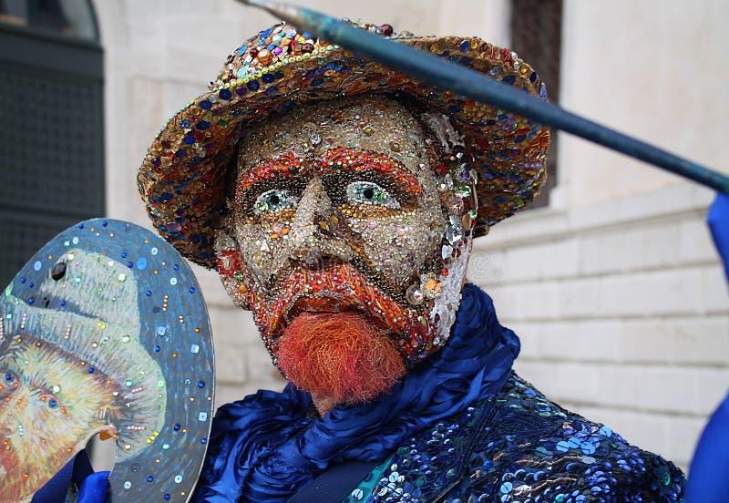 Venedig-Karneval 2016 stockfotos