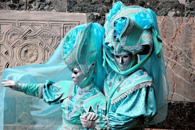 Venedig-Karneval 2009 stockbild