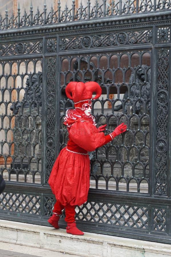 Venedig-Karneval 2009 lizenzfreies stockbild