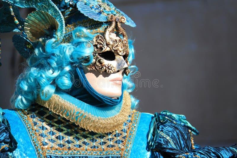 Venedig-Karneval 2016 lizenzfreies stockbild