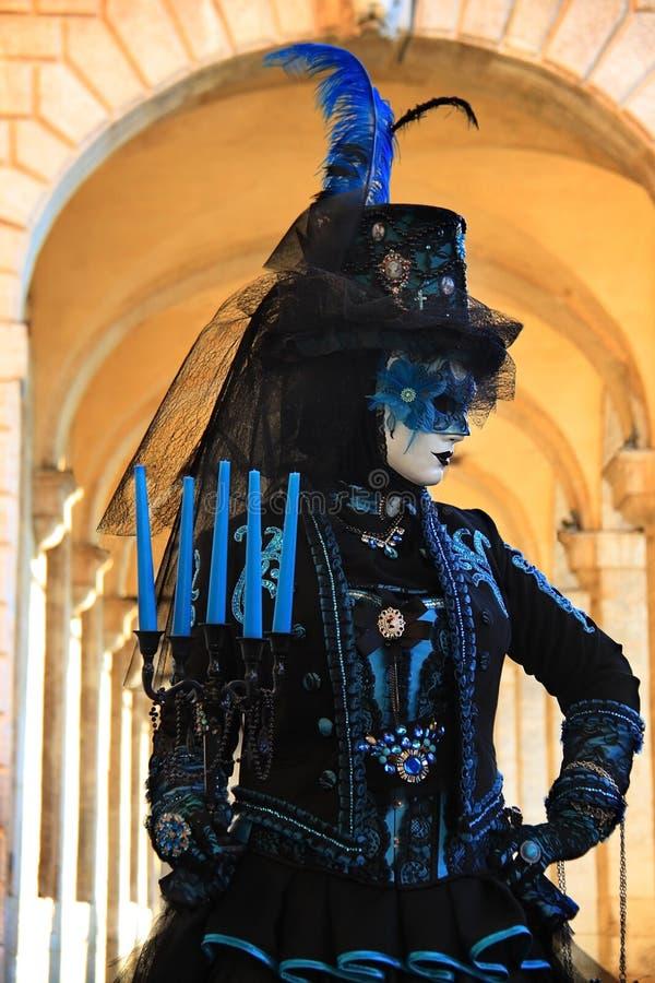 Venedig-Karneval 2016 stockbilder