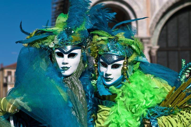 Venedig-Karnevalsmasken lizenzfreie stockbilder