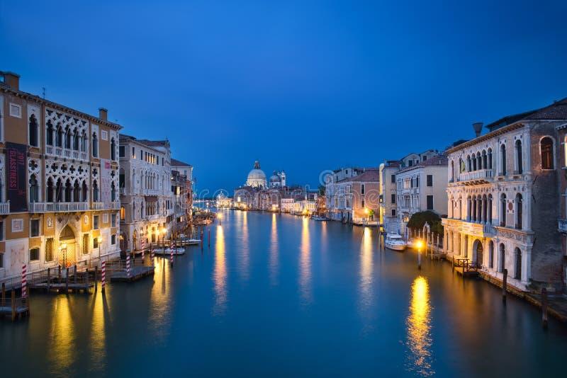 Venedig & lång exponering royaltyfria bilder