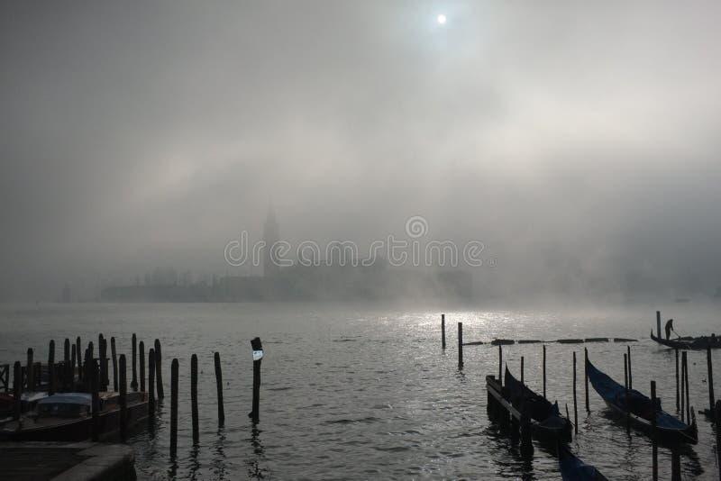 Venedig lagun royaltyfri foto