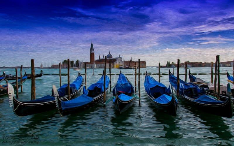 Venedig lagun arkivbilder