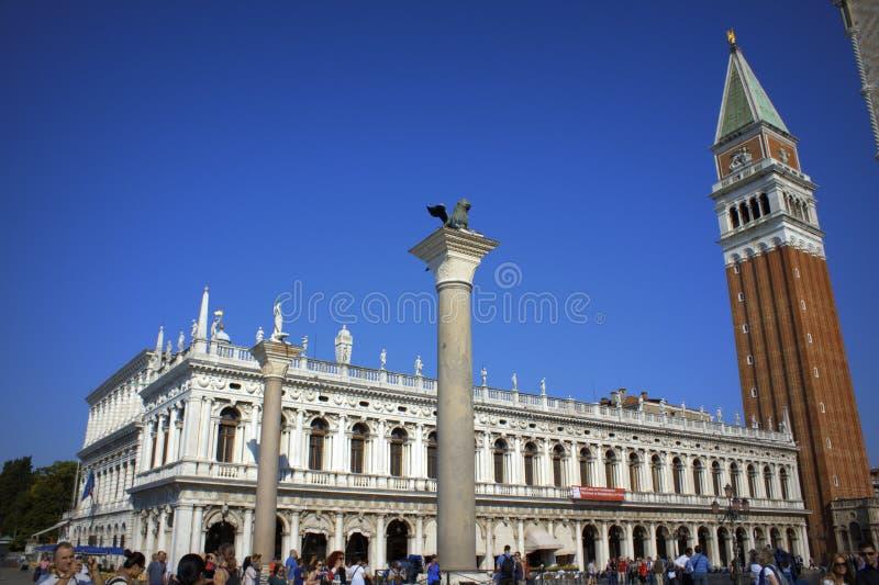 Venedig-Marksteine Italien lizenzfreies stockbild