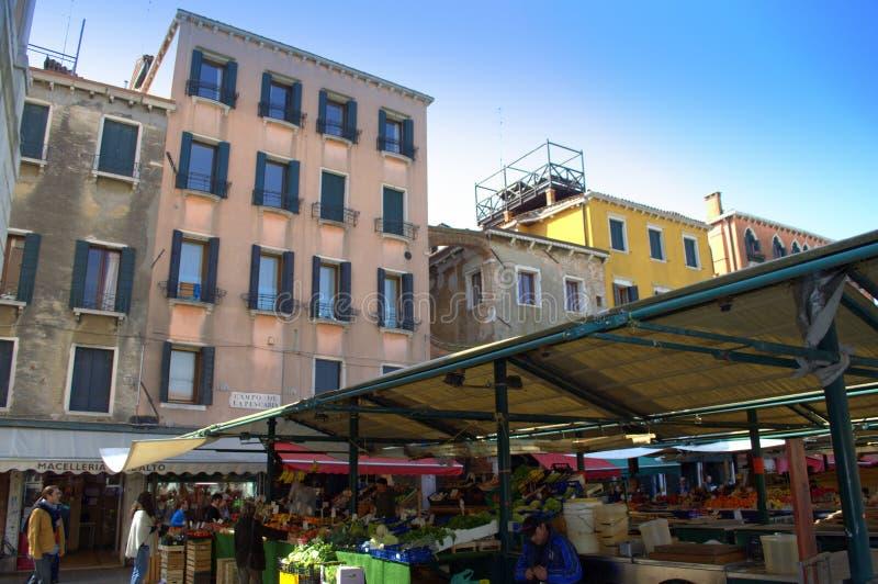 Venedig-Markt lizenzfreie stockfotos