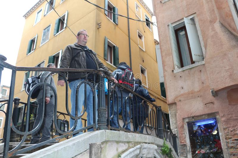 Venedig och kanalen royaltyfri fotografi