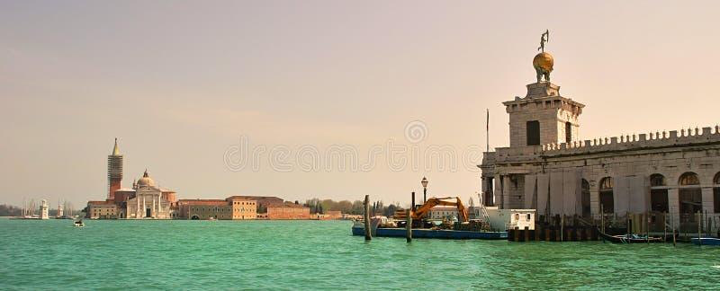 Venedig-panoramische Ansicht. lizenzfreie stockfotos