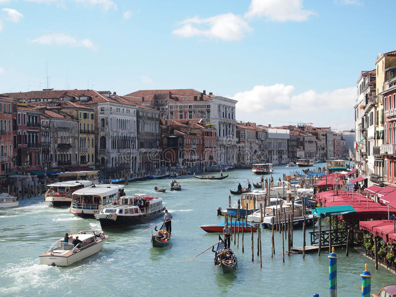 Venedig's-großartiger Kanal stockfoto