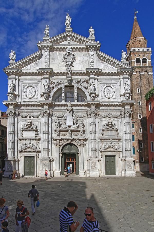 Venedig San Moise lizenzfreies stockfoto
