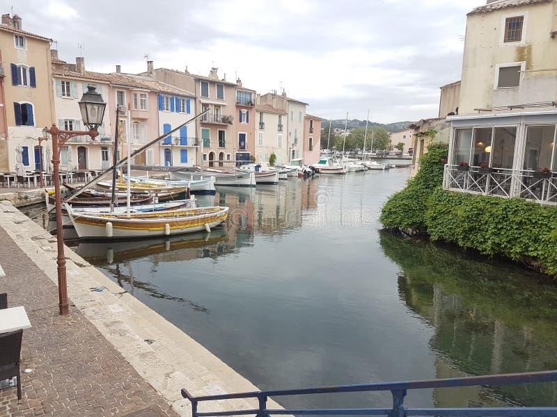 Venedig ser fartyget stock illustrationer