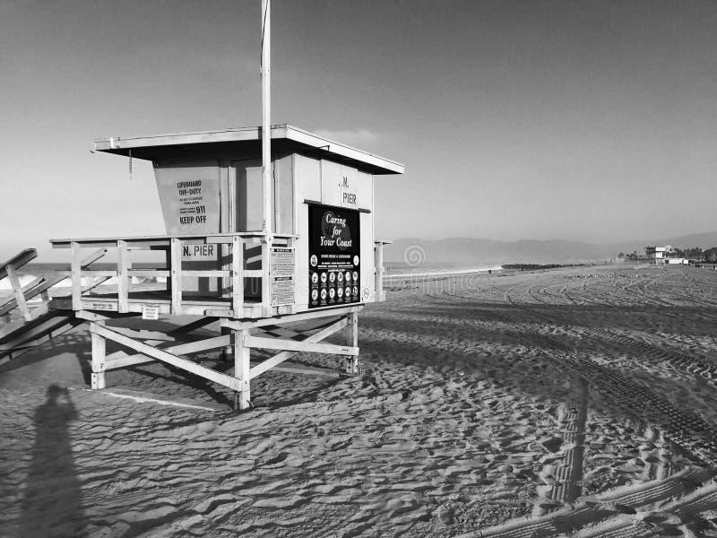 Venedig strand royaltyfri bild