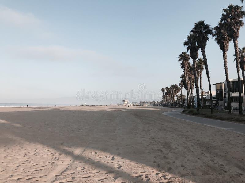 Venedig strand royaltyfria bilder
