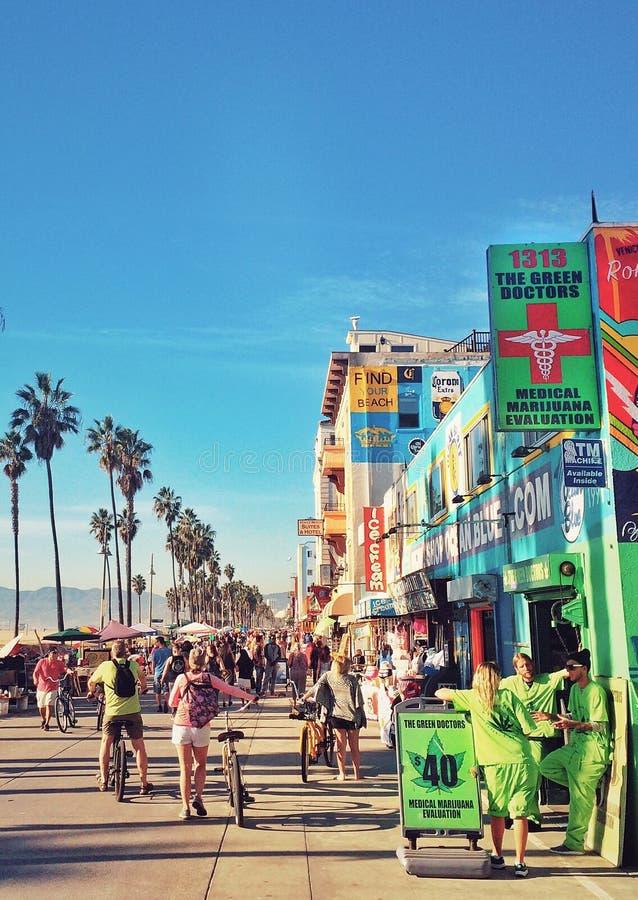Venedig-Strand lizenzfreie stockfotografie