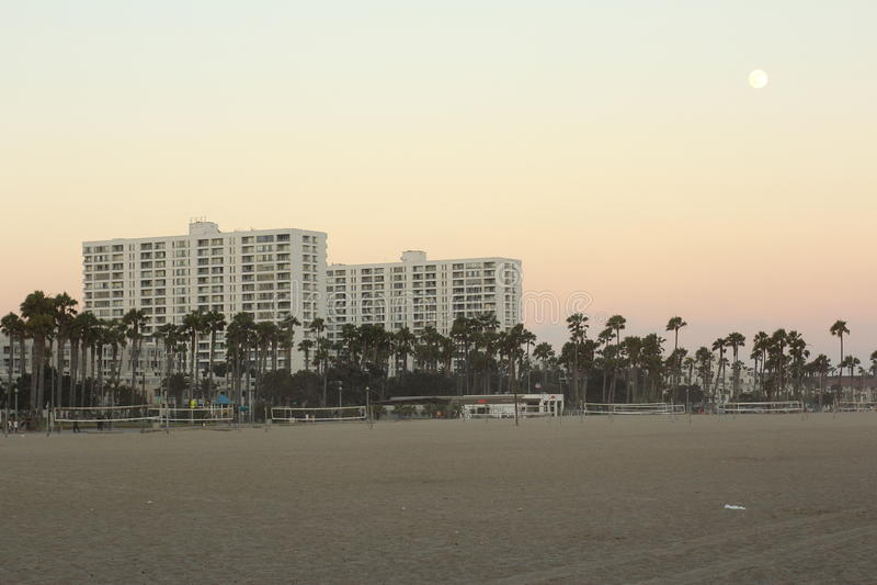 Venedig strand arkivfoto