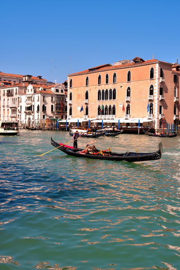 Venedig Venezia Italien royaltyfri fotografi