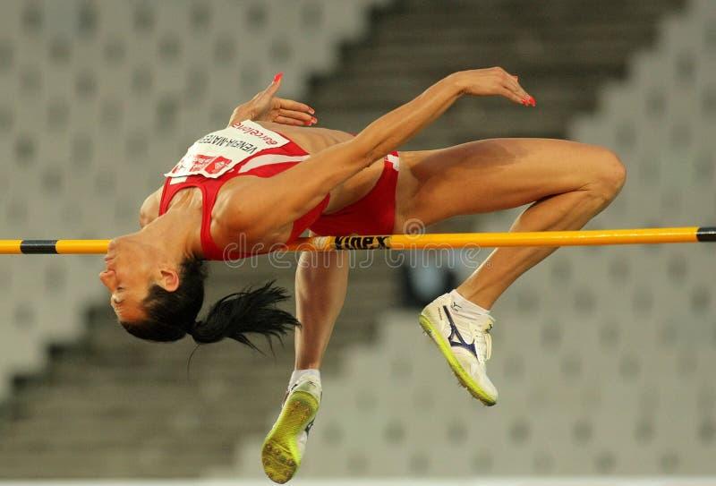 Venelina Veneva-Mateeva von Bulgarien lizenzfreies stockfoto