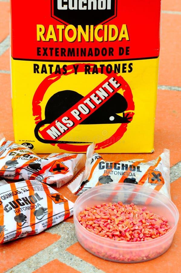 Veneno espanhol do rato, Espanha. foto de stock