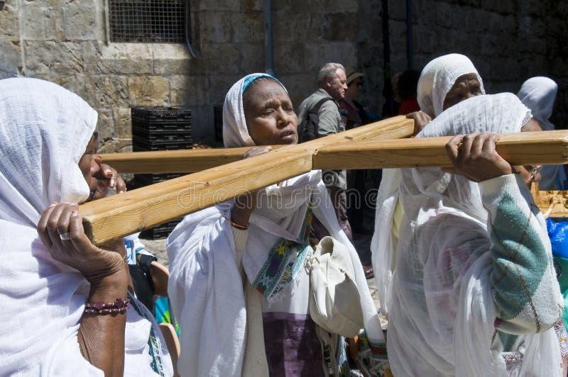 Venerdì Santo etiopico fotografia stock