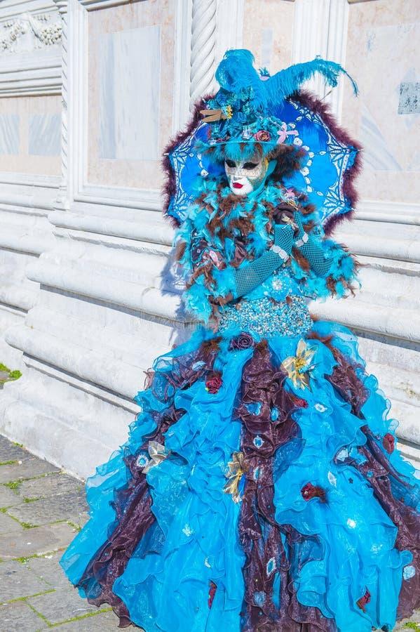 Venetië carnaval 2019 stock fotografie
