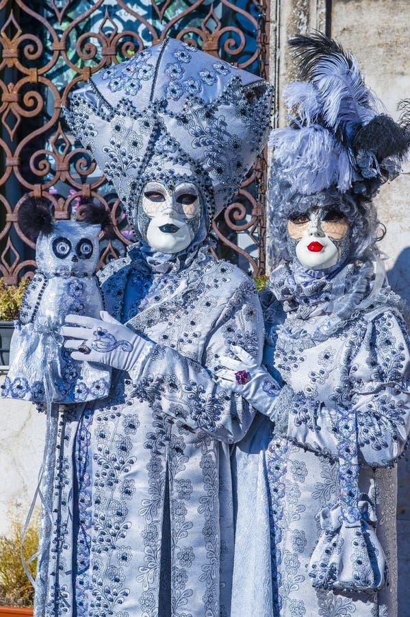 Venetië carnaval 2019 stock foto