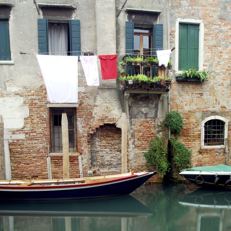 Venetië - de Reeks van het Kanaal royalty-vrije stock foto's