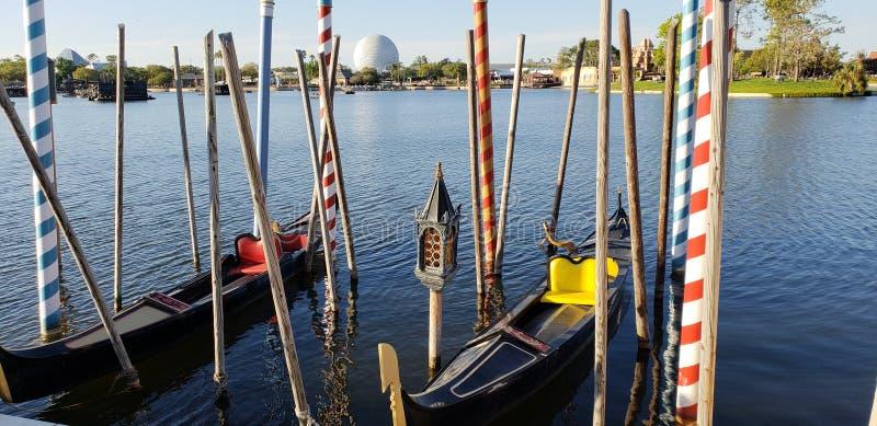 Venetië in Epcot stock foto