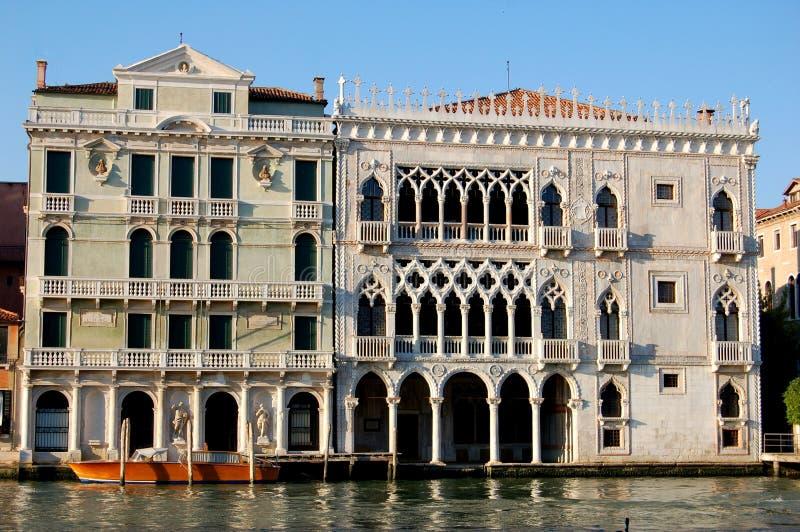 Venetië, Italië: Palazzoca d'Oro royalty-vrije stock fotografie